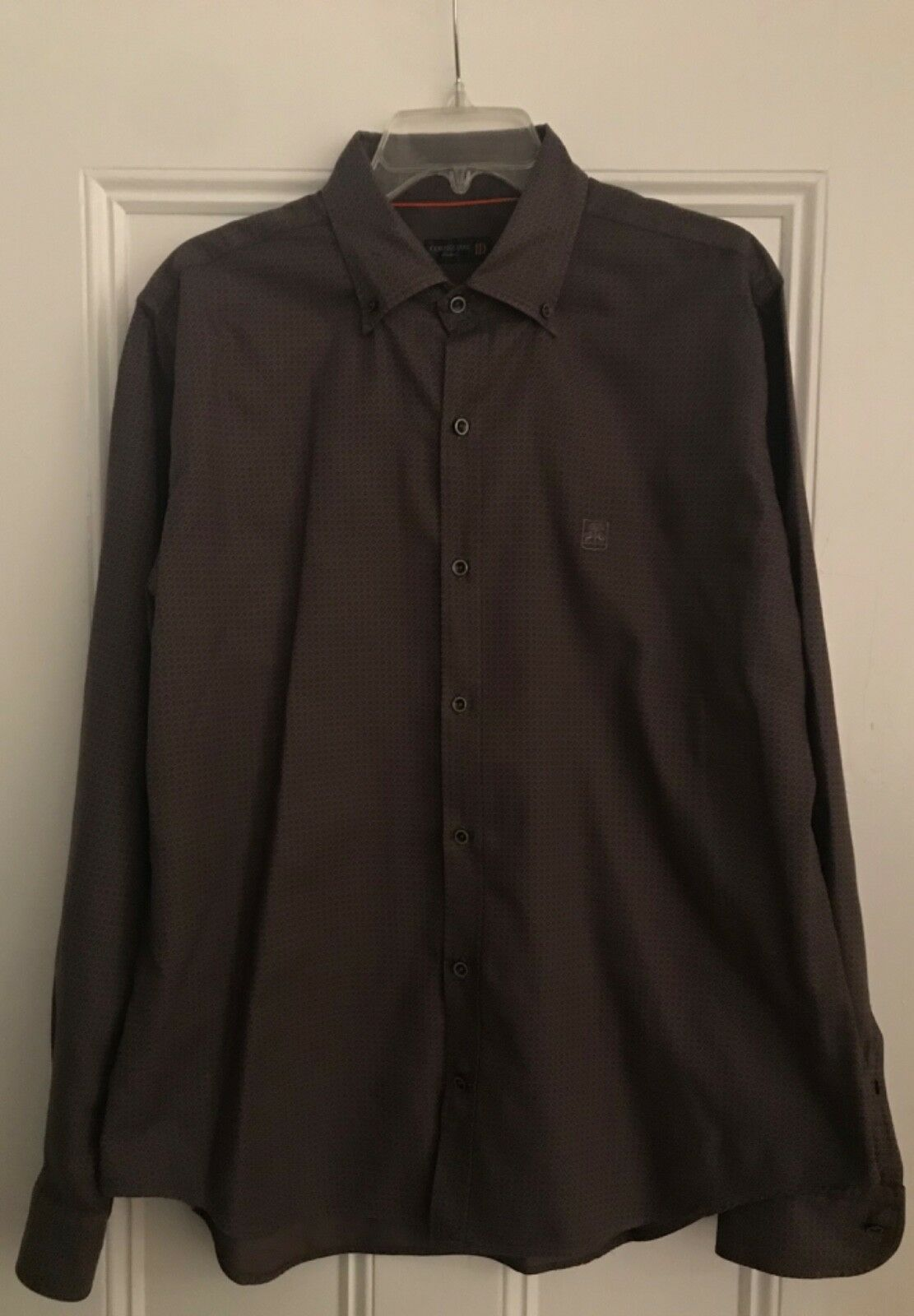 Authentic Corneliani button down shirt 18 made in  rare