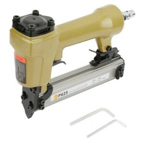 NEW-P625-Gauge-Pneumatic-Nail-Gun-Micro-Air-Pin-Nailer-Air-Power-Stapler-Tool