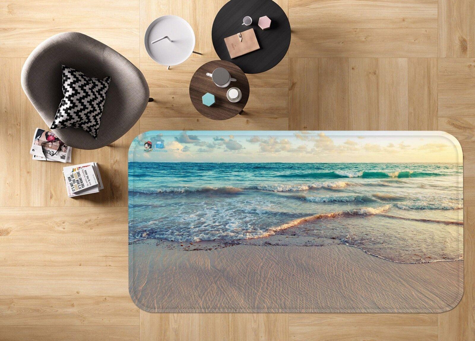 3D Sky Beach Sea 678 Non Slip Slip Slip Rug Mat Room Mat Quality Elegant Photo Carpet AU aaf024