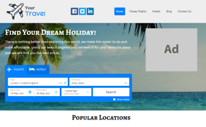 Your-Own-Travel-Comparison-Website-Earn-Money-Online-Free-Domain