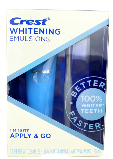 Crest Whitening Emulsions Teeth Whitening Kit With Whitening Wand Sealed Box0.88