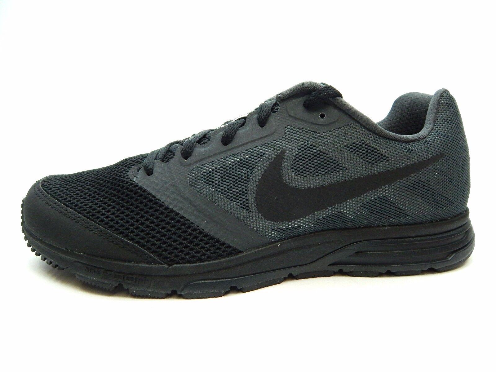 Nike zoom fliegen team 652828 001 schwarzen anthrazit männer schuhe größe 7,5 bis 9,5
