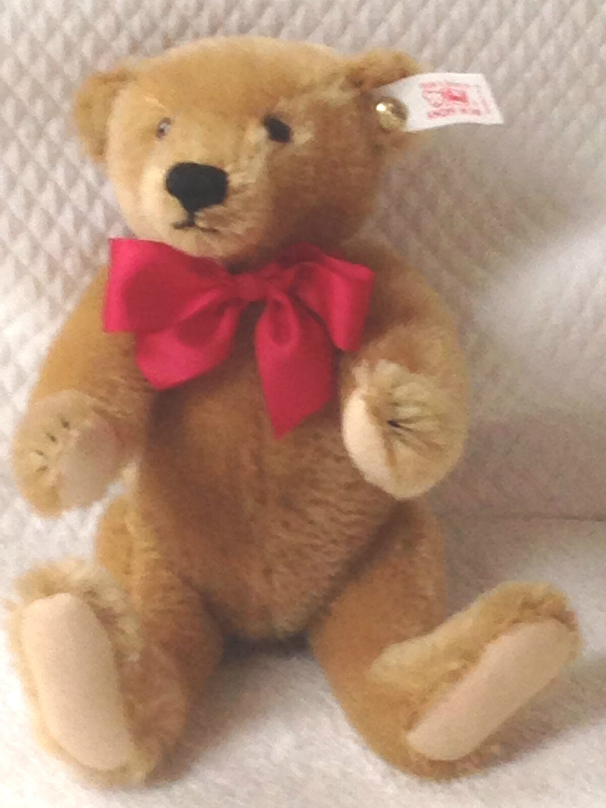️STEIFF LOGO BEAR 998713 Limited Edition of 1500 1998 Numberosso COA NEW IN BoX ️