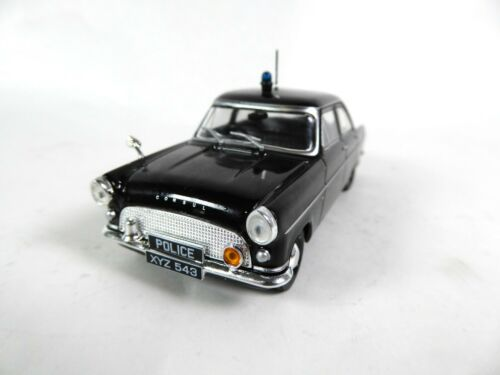 Ist Miniatur Polizei Modellauto PM14 Ford Consul Mk 2 UK britisch police 1:43