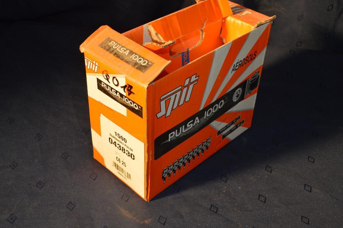 1500x  SPIT C6 25mm Nägel für Bolzensetzgerät Bolzenschussgerät