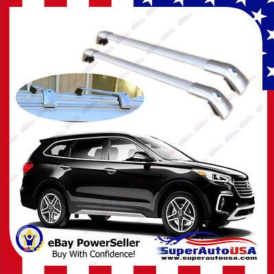 Top Roof Rack For Hyundai Santa Fe Xl 2013 2019 Silver