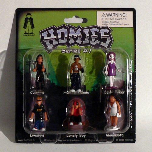 Homies Figuren // Figures Rarität NEU Series #7 Set 2-1:32-4,5 cm OVP