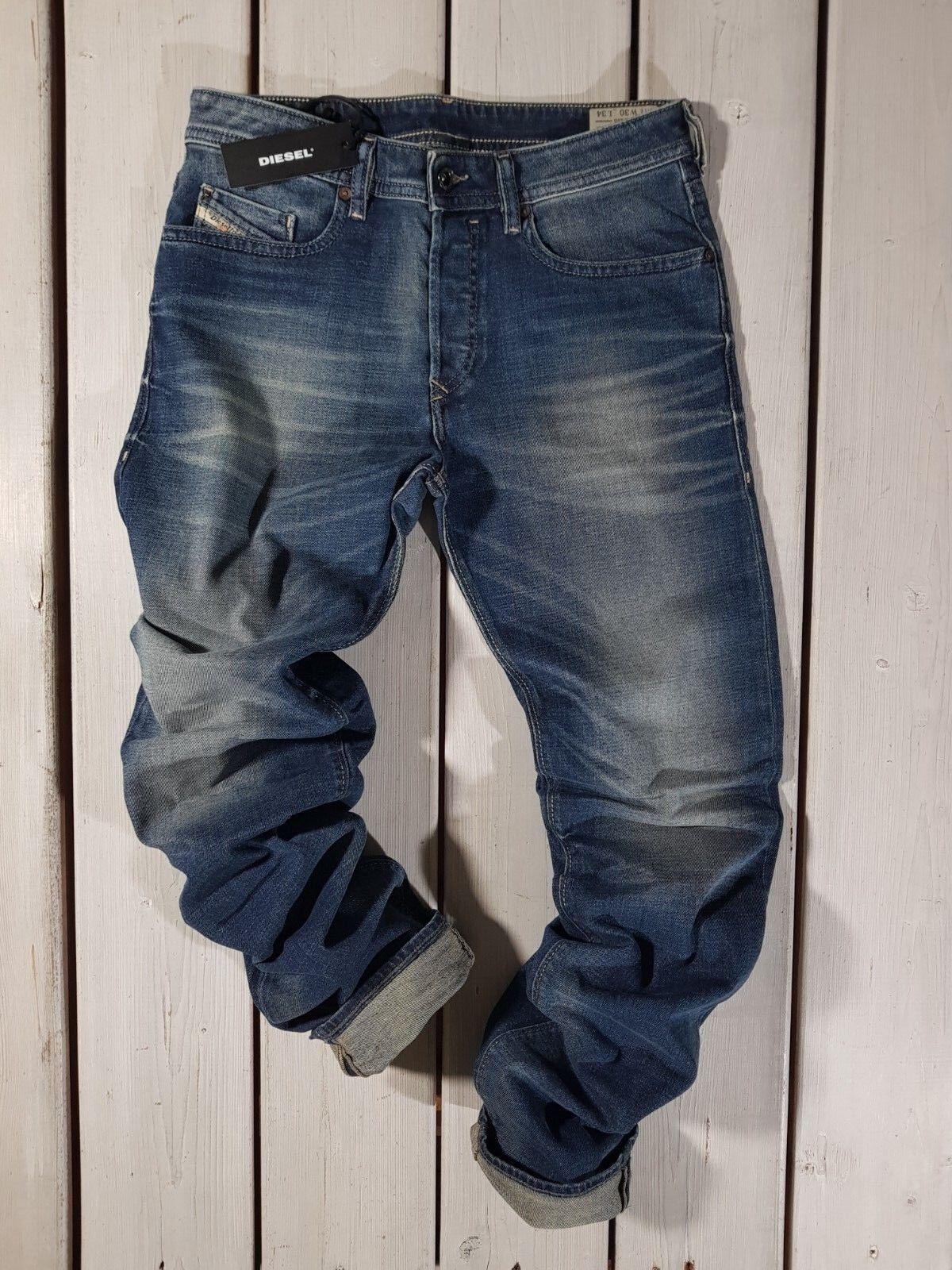 Prix de Vente Recomhommedé Neuf Diesel HOMME Jeans Sculptant 0850k Régulier