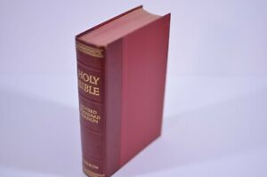 The Holy Bible Red Thomas Nelson 1952 Revised Standard Version Hardcover Vintage