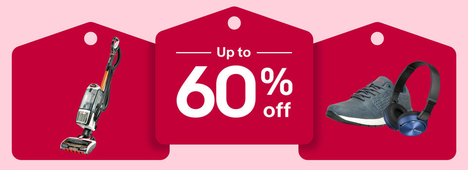 Shop now - There's still time to save up to 60% off