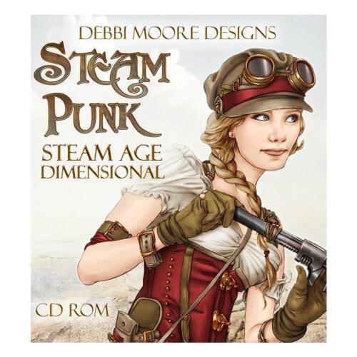 329175 Debbi Moore Designs Steam Punk Steam Age Dimensional CD Rom