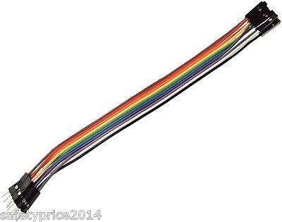 40x Kabel 30cm Male Female Jumper Dupont 2,54 Arduino Protoboard Kabel