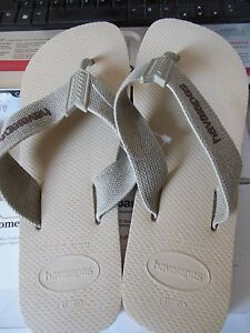 324af434cf9f0 Details about Havaianas Unisex Flip Flops ~ Brazil ~   USA- 9   10    Free  Shipping