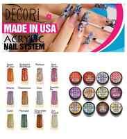 12 Pcs Adoro Color Acrylic Powder Vinatage Collection Like Mia Secret & Global