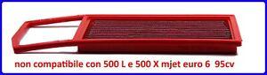 Filtro-Aria-sportivo-BMC-FIAT-500-NUOVA-500-150-1-3-MJET-95CV-EURO-6-2016-gt