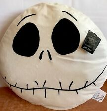 "The Nightmare Before Christmas Jack Face Pillow Soft Plush 20"" Disney Licensed"