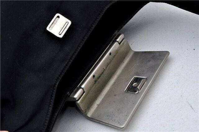 Prada Bag Handbag Nylon Purse Flap Shoulder Tessu… - image 11