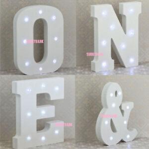 LED-Light-Up-Large-White-Letters-Alphabet-Name-Wedding-Home-Shop-Decor-Sign