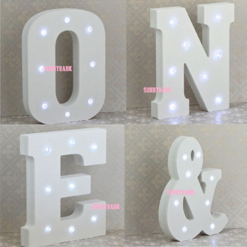 New Red Merry Christmas Word Light Up Warm White LED Plaque 36cm SALE
