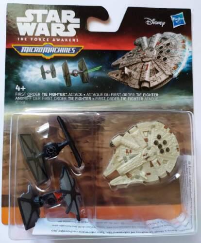 Star Wars Fuerza despierta micromáquinas figuras 3-Pack 7-Pack HASBRO oficial