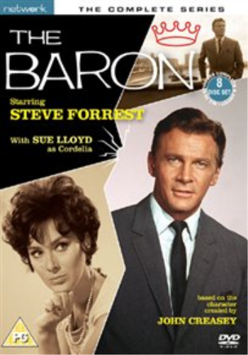 Steve Forrest, Sue Lloyd-Baron: The Complete Series DVD NEW