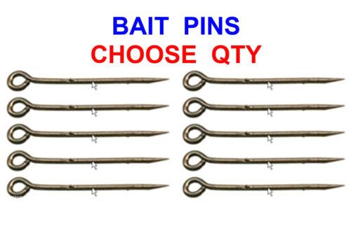 METHOD FEEDER BAIT PINS FOR CARP FISHING HAIR RIGS BOILIE IMITATION MAGGOTS CORN