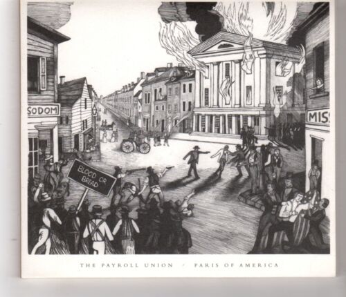 1 of 1 - (HH663) The Payroll Union, Paris Of America - 2015 CD