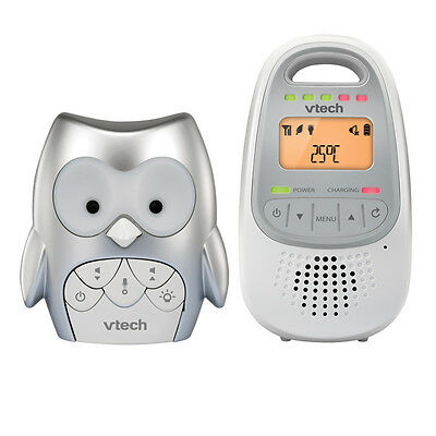 Vtech Monitor Audio BM2000 - Owl - White/Silver
