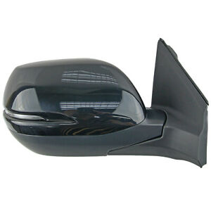 Right Black Electric Door Side Mirror w/LED 9P For Honda CR-V RM1 RM3 2012-2016