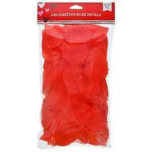 2Pack of Artificial Silk Rose Petals Valentine/'s Bridal Wedding 300 pcs-Red/&Pink