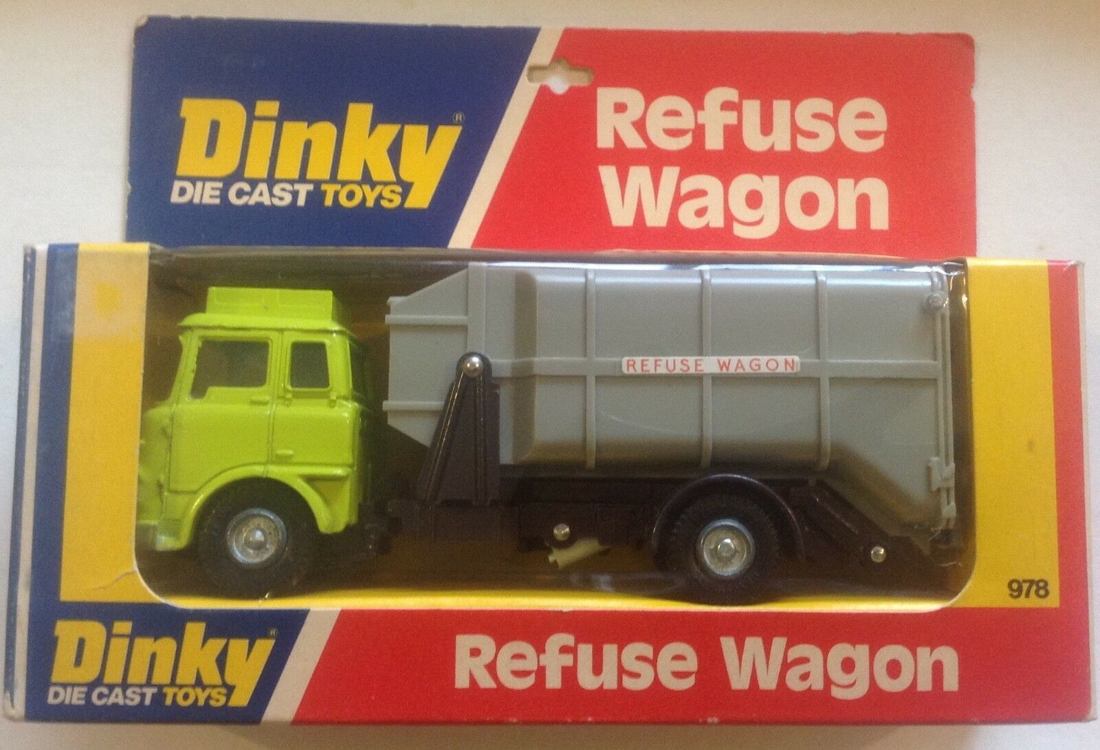 DINKY 978 NOT ATLAS REFUSE WAGON BOXED