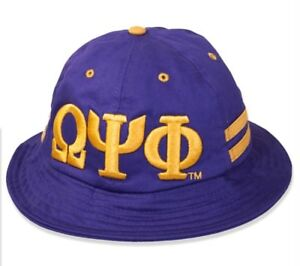 591304e64 Details about Omega Psi Phi Fraternity Men's 2018 Bucket Hat