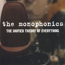 The Unified Theory Of Everything by The Monophonics (CD-2004) NEW-Free Shipping