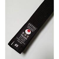 Tokaido Karate Black Belt Martial Arts Cotton Jka