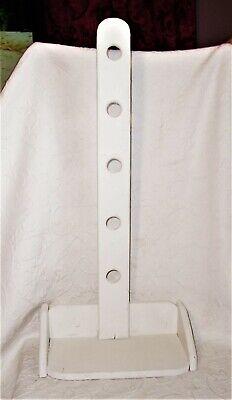PRIMITIVE Wood Shaker Hanging peg rack Candle Holder Shelf