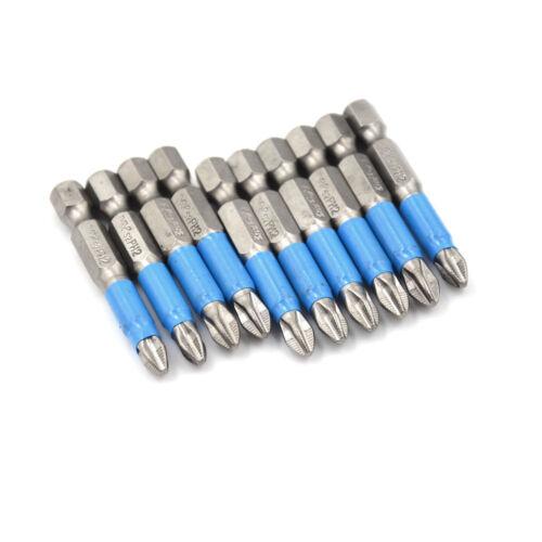 50mm PH2 Magnetic Screwdriver Bit Set Anti Slip Electric Magnetic ScrewdriveVKHK
