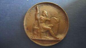Bronze Guss-medaille Rep.france 1848 In Ss Environ 55 Grammes, 51 Mm (18p87) CéLèBre Pour Des MatéRiaux SéLectionnéS, Des Conceptions Originales, Des Couleurs DéLicieuses Et Une Finition RaffinéE