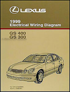 1999 lexus gs 300 400 wiring diagram manual new gs300 gs400 BMW X3 Diagram  2011 Lexus GS300 Kia Optima Diagram 1994 Lexus GS300 Interior