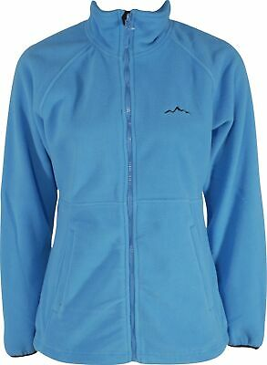 PräZise Wynnster Alviana Womens Thermal Fleece Blue Soft Brushed Fabric Casual Jacket