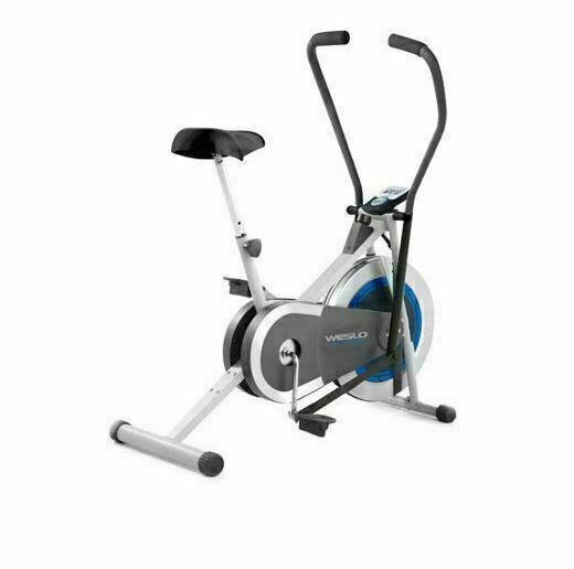 Weslo WLEX61215 Cross Cycle Upright Exercise Bike with Padded Saddle