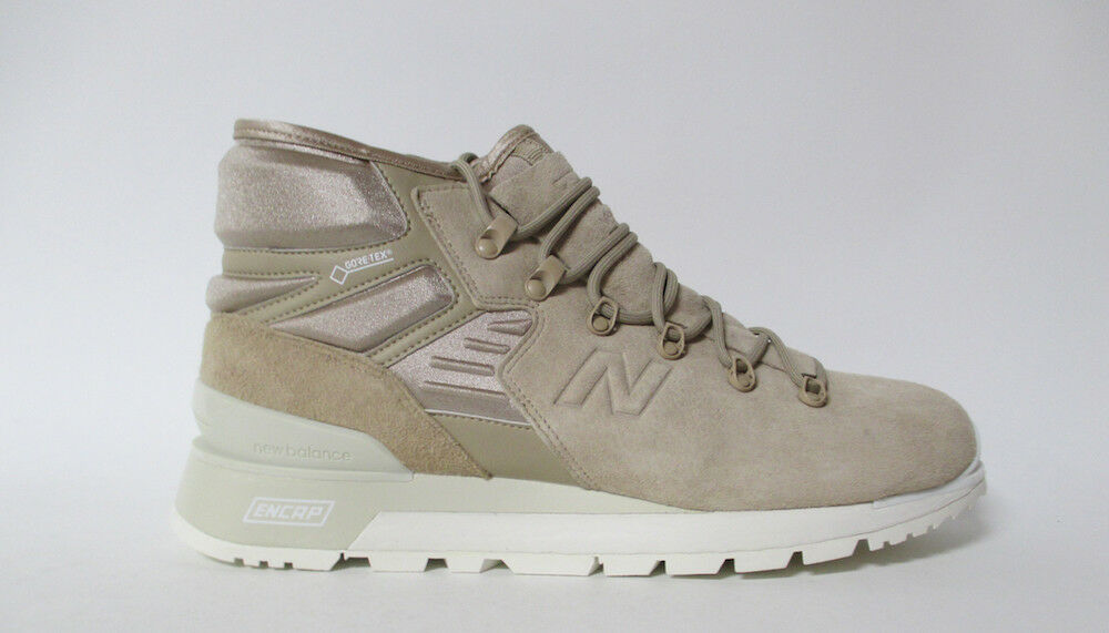 New Balance Gore-Tex Boots Natural Sail Sz 10.5 MLNBMBE