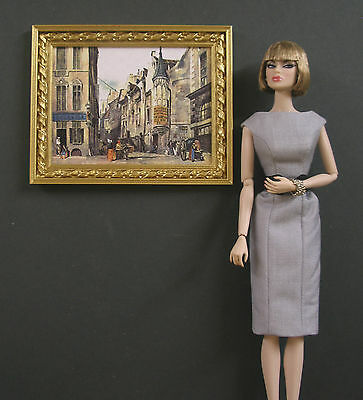 """1:6 scale ~ ROPE  FRAME  PICTURE ~ for  12/"""" Doll ~ Furniture ~ Action Figure"""