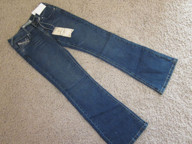 cea1e9529a6 Imperial Star Girls 12 Flare Embroidered/ Embellished Jeans NWT Really Cute!