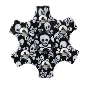 Rare Fidget Hand Finger Spinner Skulls Toy For Kids EDC ADHD Autism