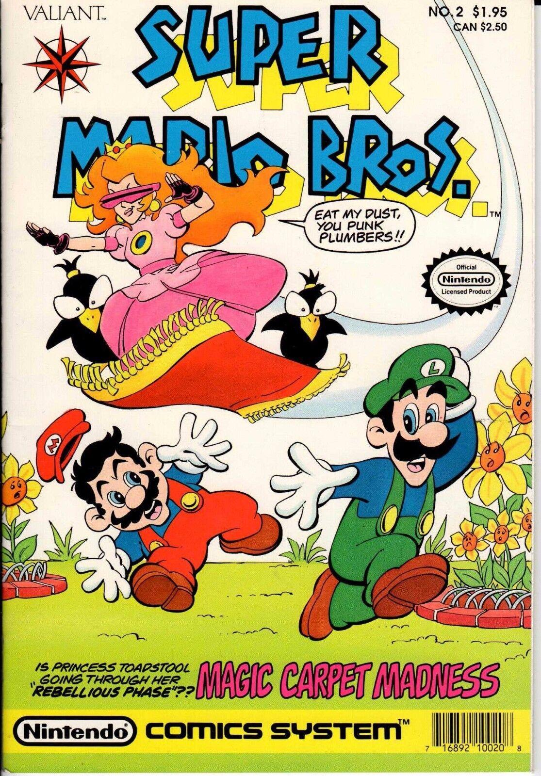 Super Mario Bros 2 Vf Nm Valiant Comics Nintendo 1st Series For