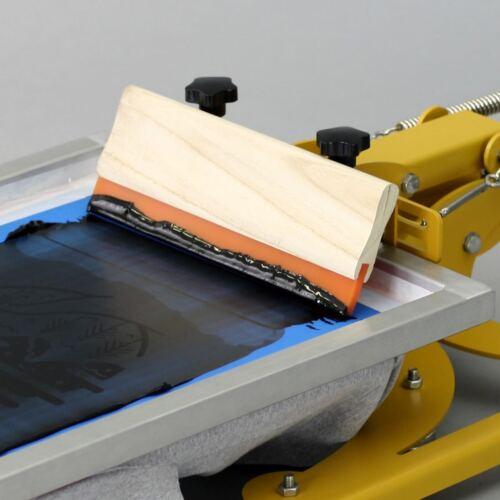 20cm Holzrakel 70 Shore für textilen Siebdruck Textildruck Siebdruckrakel