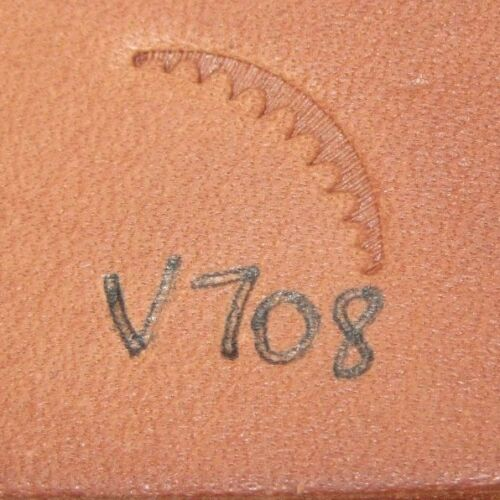 Vintage Craftool USA Leather Stamping Tool V708
