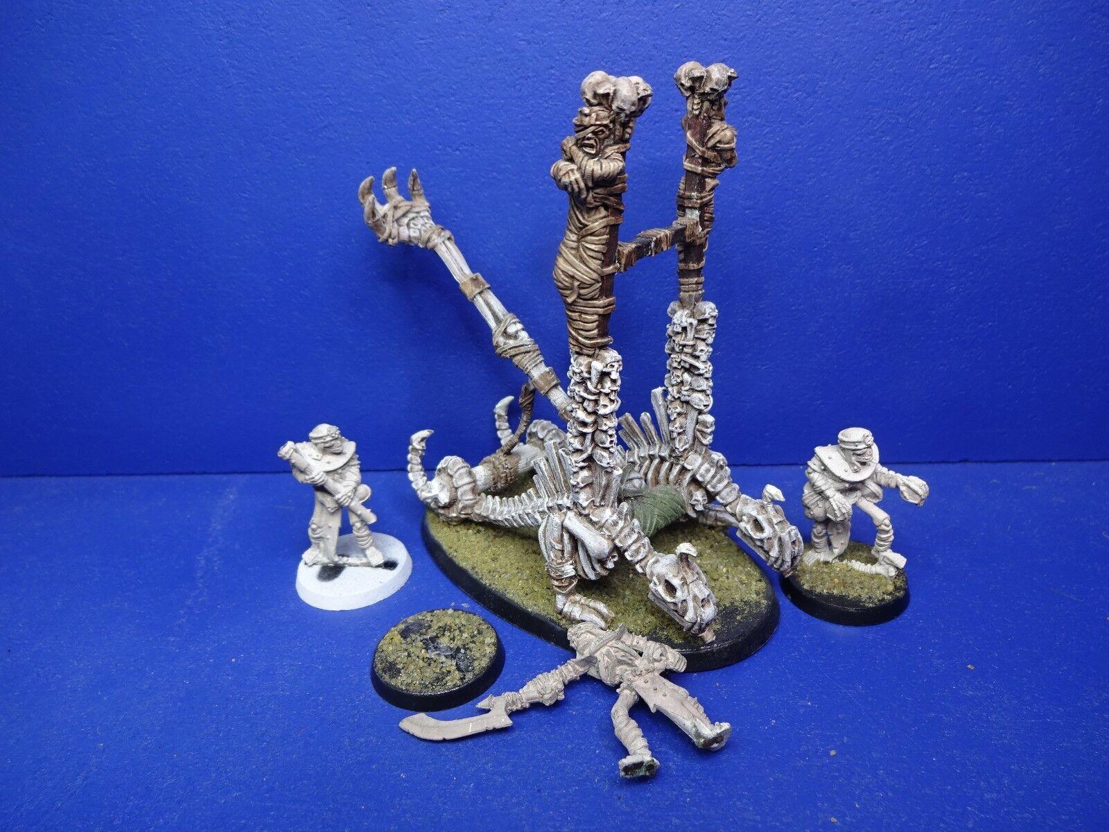 RAR  cranio catapulta della tomba dei  re di Khemri mettuttio 2  basta comprarlo