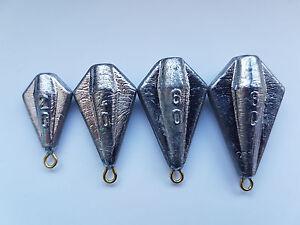 20 Gramm Anti-Tangle-Blei trapezförmig ca 30 Gramm zur Auswahl