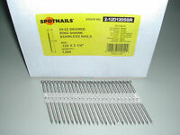 Stainless Steel12d 3 1/4 Ring Full Round Head Nails 21 Degree For Hitachi Max
